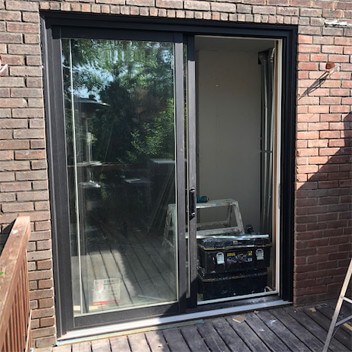 Vinyl Patio Door Projects image