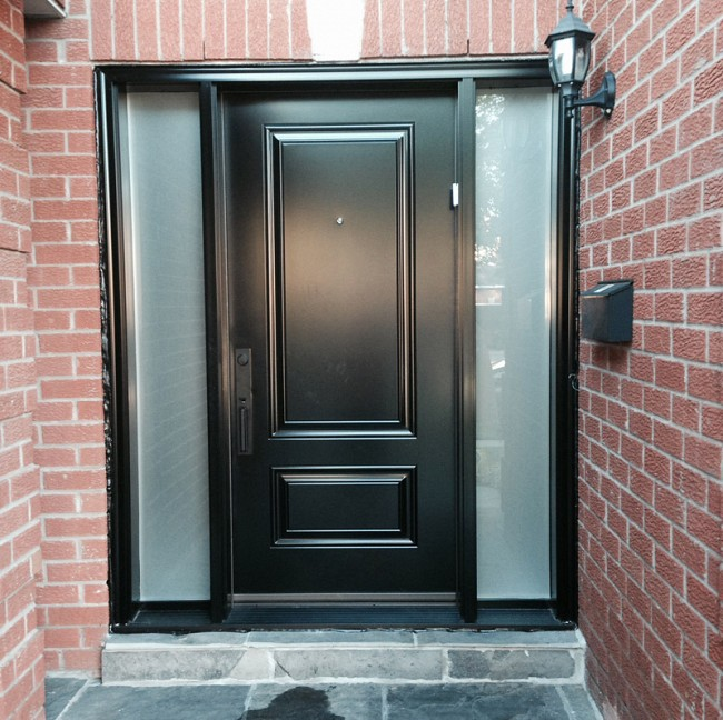 steel-door-installation-replacement-toronto-double-privacy