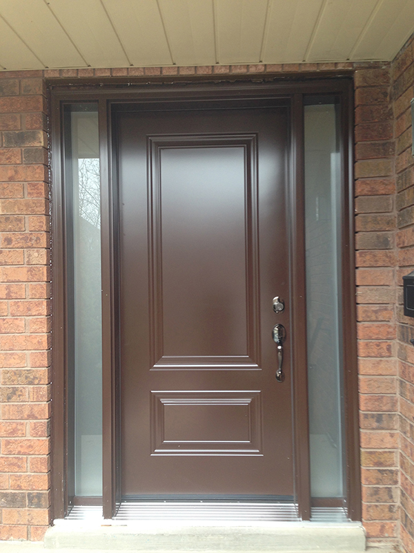 steel-door-installation-replacement-toronto-standard-brown