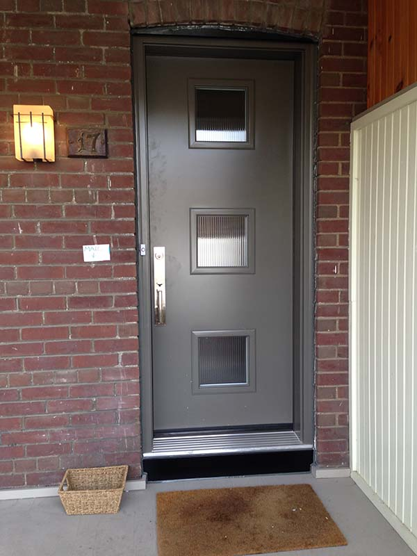 steel-door-installation-replacement-toronto-grey-with-window