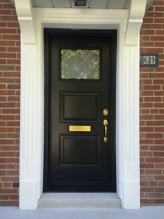 steel-door-installation-replacement-toronto-with-mailbox