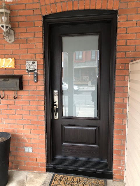 fiberglass-doors-installation-toronto-upgrade-brick