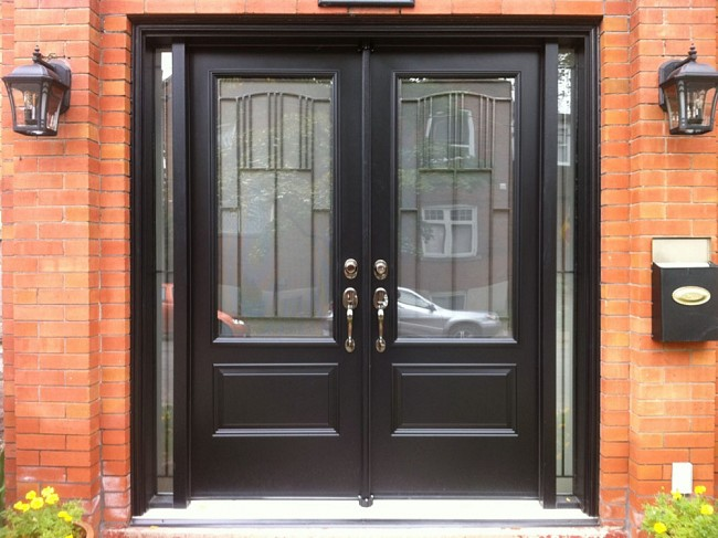 steel-door-installation-replacement-toronto-decorative-glass