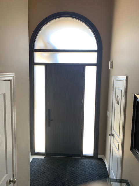 stained fiberglass doors toronto