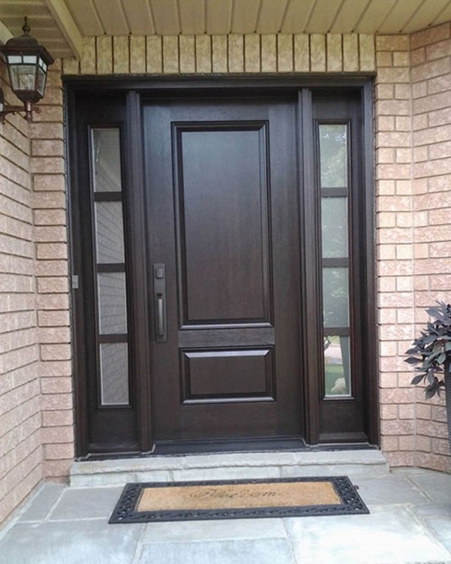 traditional fiberglass doors