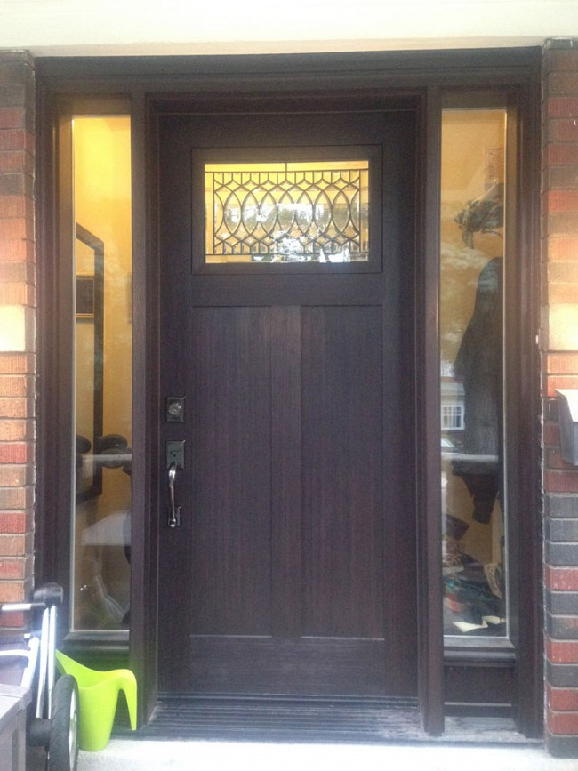 fiberglass-doors-installation-toronto-craftsman-look-glass-design