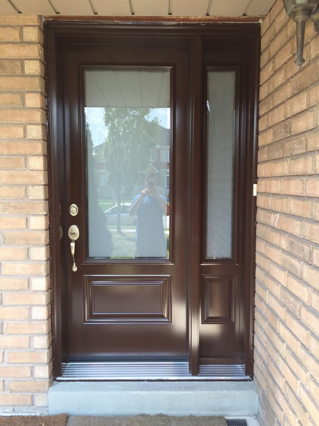 steel-door-installation-replacement-toronto-silver-sill