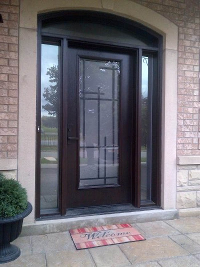 fiberglass-doors-installation-toronto-full-of-glass