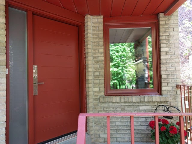 steel-door-installation-replacement-toronto-custom-red-matching
