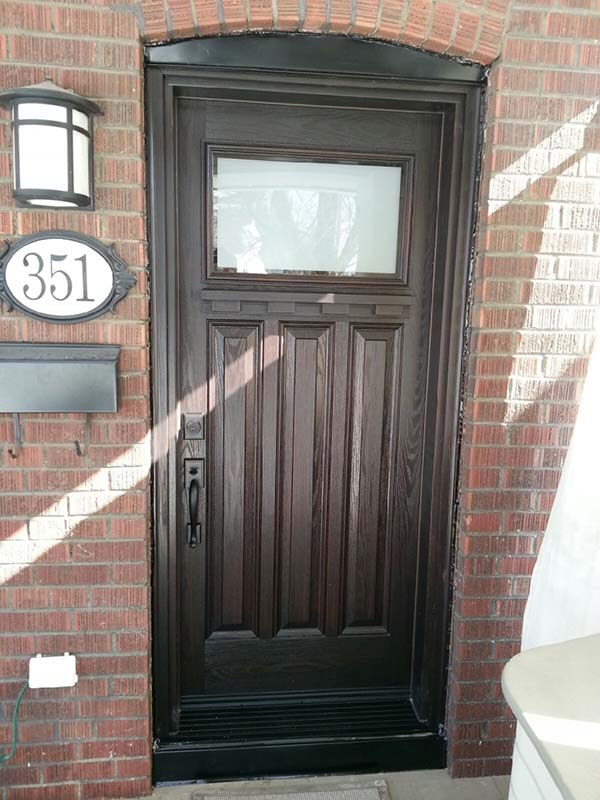 fiberglass-doors-installation-toronto-tri-panel-design