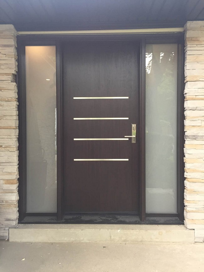 security fiberglass doors