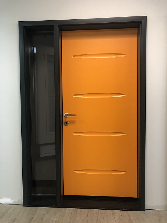steel-door-installation-replacement-toronto-bold-orange