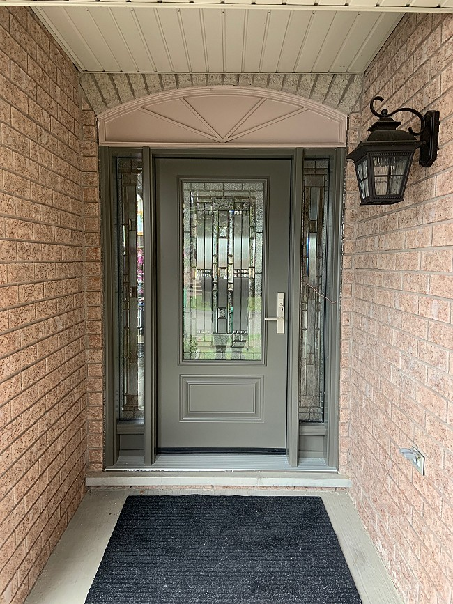 steel-door-installation-replacement-toronto-with-side-panels