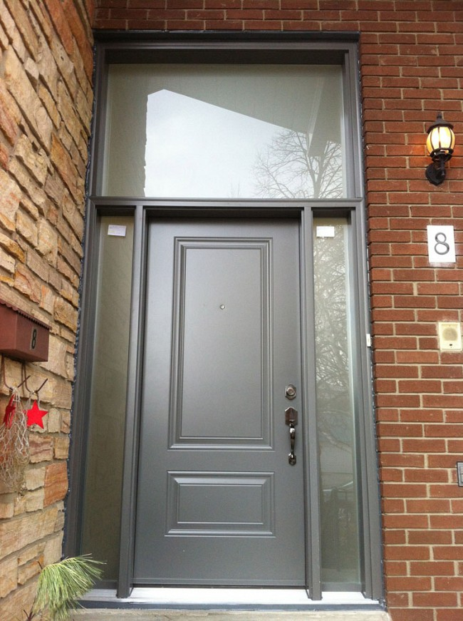 steel-door-installation-replacement-toronto-factory-gray