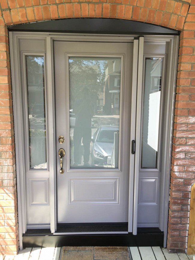steel-door-installation-replacement-toronto-modern-grey