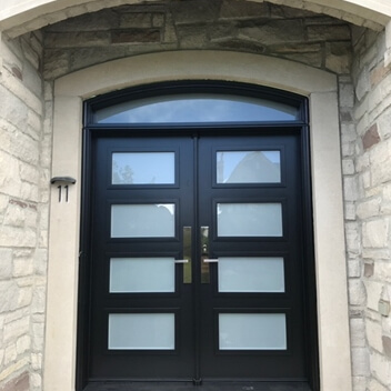steel-door-installation-replacement-toronto-gridded-light