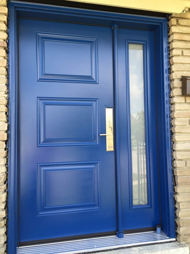steel-door-installation-replacement-toronto-sidelight