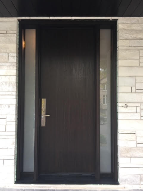 fiberglass-doors-installation-toronto-simple-black