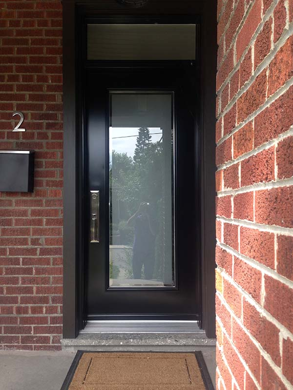 steel-door-installation-replacement-toronto-full-glass