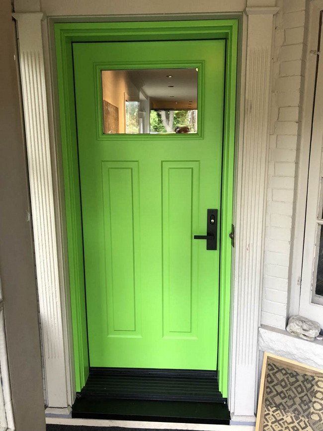 steel-door-installation-replacement-toronto-bright-green