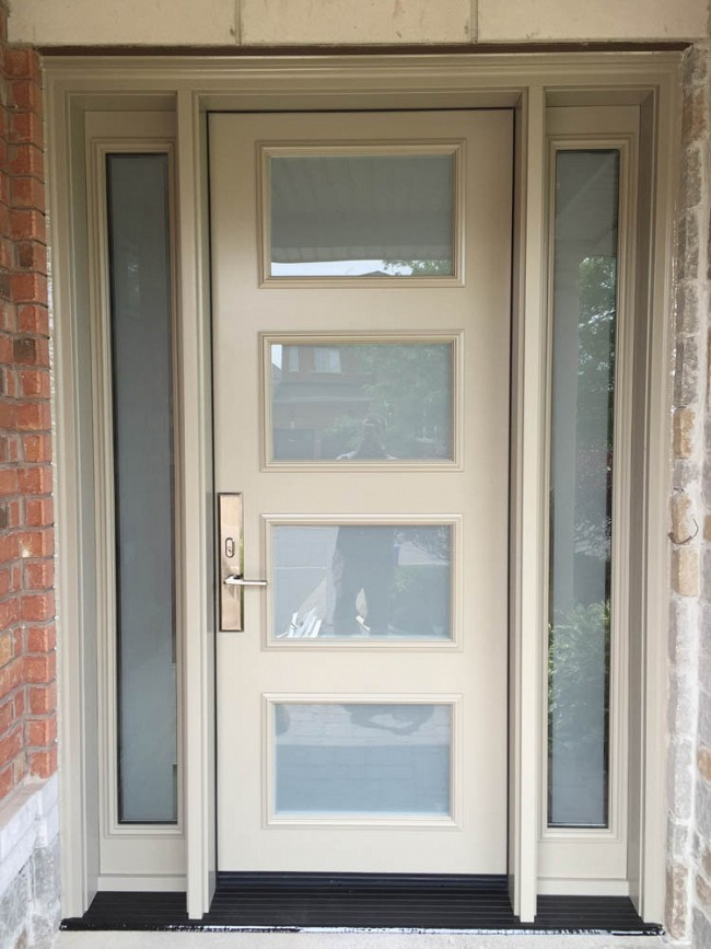 steel-door-installation-replacement-toronto-cream-white
